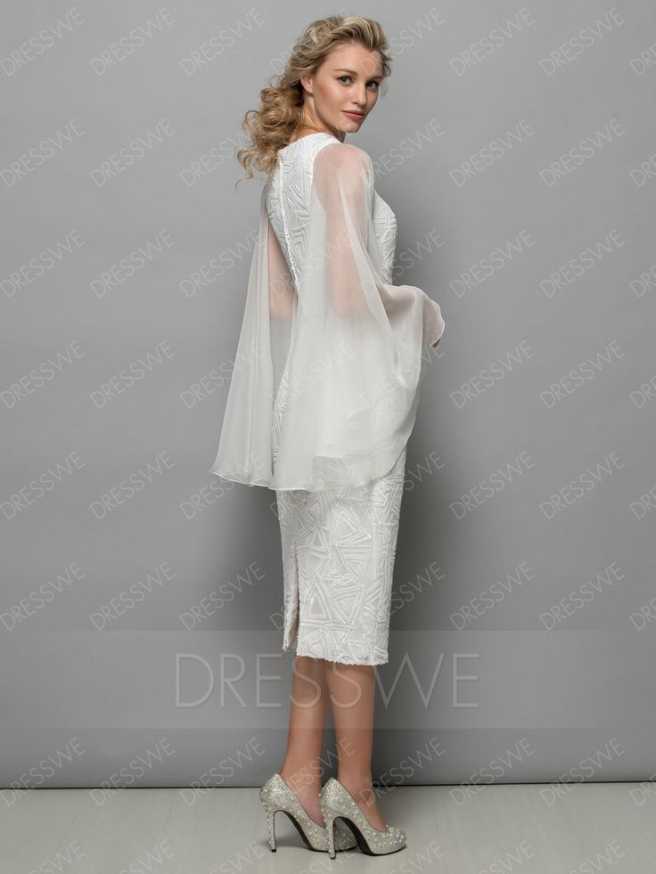 Buy Fashion Column Two Pieces Cocktail Dress  Online, Dresswe.Com offer high quality fashion,Price: USD$110.69