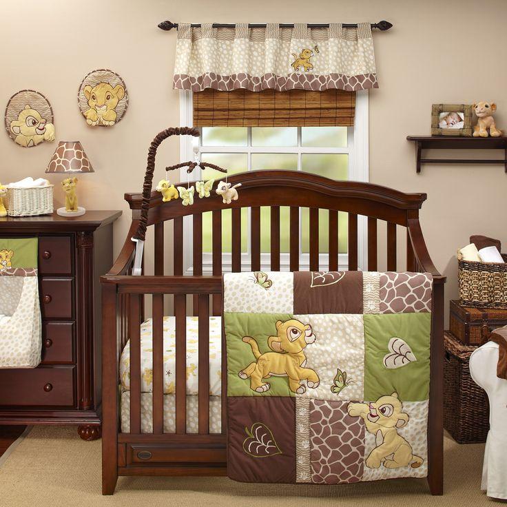 The Lion King 4 Piece Crib Bedding Set