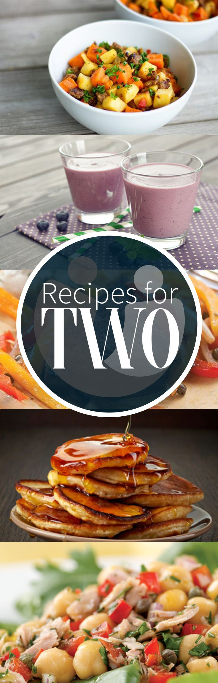 Whether you always cook for two or want to whip up something special for date night, check out these delicious and healthy dinner ideas!