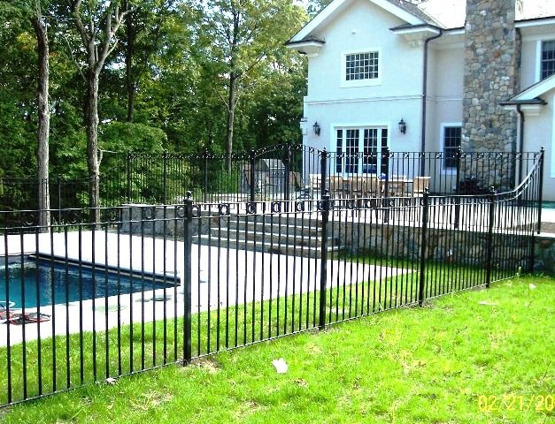 17 Best Images About WROUGHT IRON FENCE On Pinterest