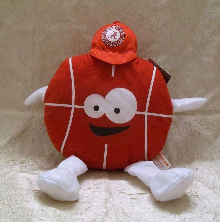 University Of Alabama Basketball Plush Toy New with Tag #NewWorld #AlabamaCrimsonTide