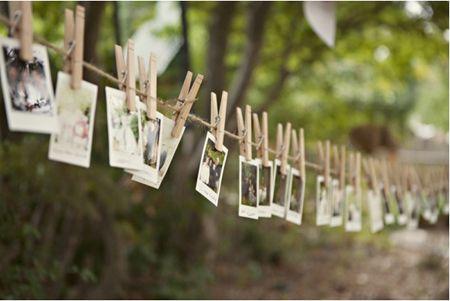 Des idées pour un mariage original : côté réception