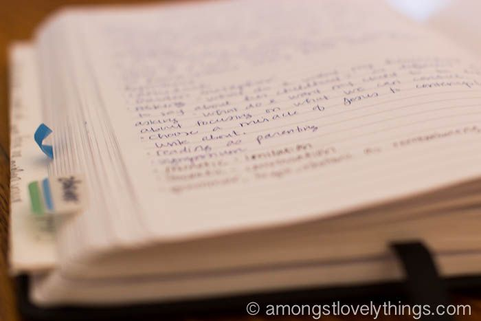 What I Keep in My Commonplace Book | Sarah Mackenzie
