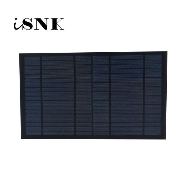 6 9 18v 10watt 10w Solar Panel Standard Pet Polycrystalline Silicon Charge 10w Battery Charge Module Mini Sola Best Solar Panels Solar Energy Panels Solar Cell