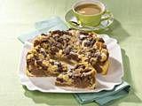 Himbeer-Mascarponekuchen mit Schoko-Crunchie-Boden