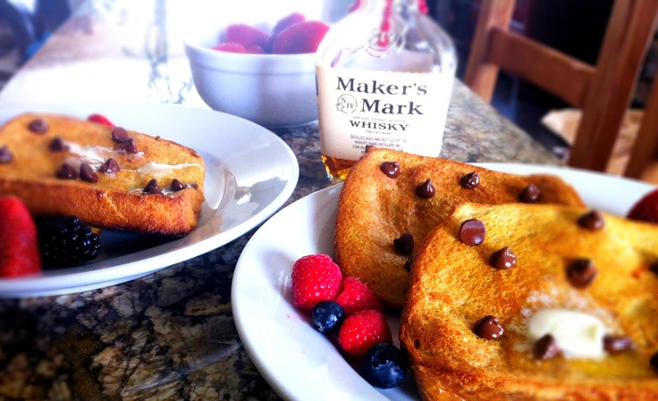 Makers Mark French Toast by http://www.aspensoleil.com