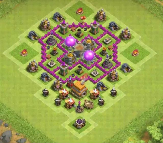 Best Coc Base For Th 6 5