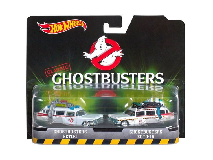 Hot wheels Ghostbusters Ecto 1 and Ecto 1A Set of 2 Cars Diecast Model Cars by Hotwheels - Brand new diecast car models of Ghostbusters Ecto 1 and Ecto 1A Set of 2 Cars die cast car model by Hotwheels. Limited Edition. Detailed Exterior. Metal Body. Comes in a blister pack. Officially Licensed Product. Dimensions of the car approximately L-3 Inches Long.-Weight: 2. Height: 6. Width: 11. Box Weight: 2. Box Width: 11. Box Height: 6. Box Depth: 6