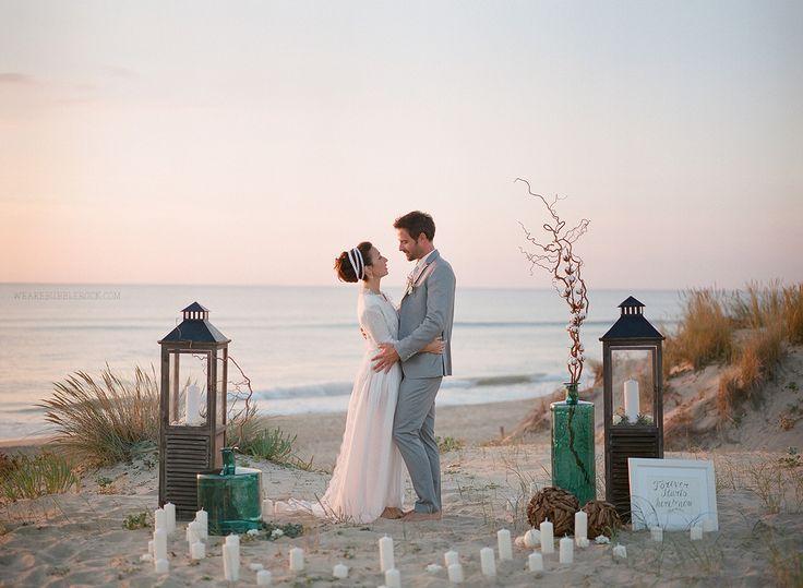 Beach sunset ceremony // #Mamiya645 Fujifilm Pro400H // bubblerock // Designed by @Véronique So Lovely Moments