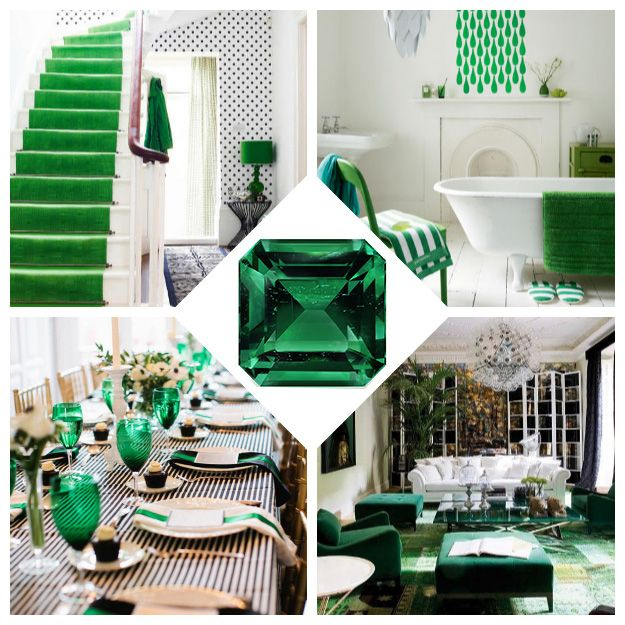 169 Best Brilliant Emerald Decor Images On Pinterest