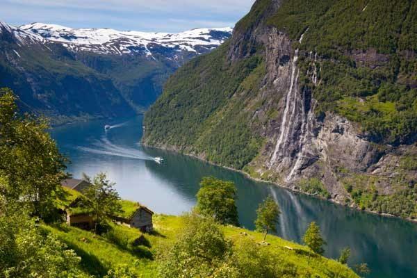Geirangerfjord and Nærøyfjord, Norway