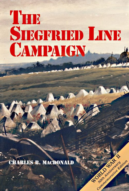 Book Cover: The Siegfried Line Campaign