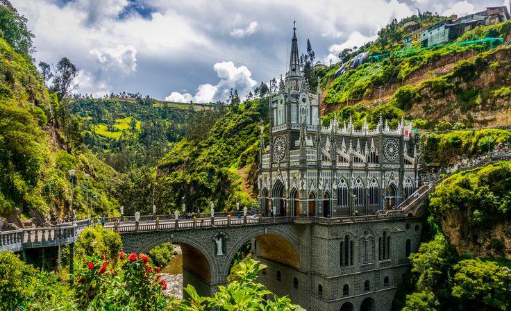 Santuario de las Lajas, Colombia | @projectinspo