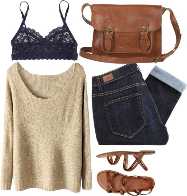 Clothes Casual Outift for • teens • movies • girls • women •. summer • fall • spring • winter • outfit ideas • dates • parties Polyvore :) Catalina Christiano