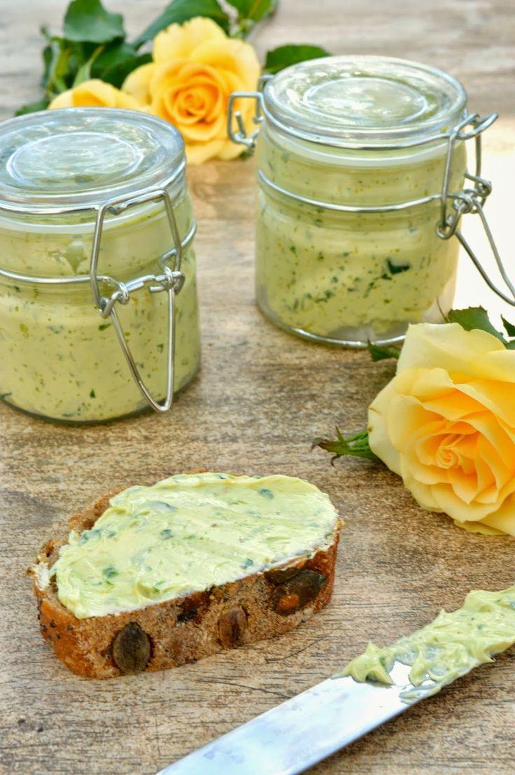 Das Essperiment: Kampf den Fertigprodukten 2.0 - Frühlingsfrische Bärlauch-Zitronen-Butter
