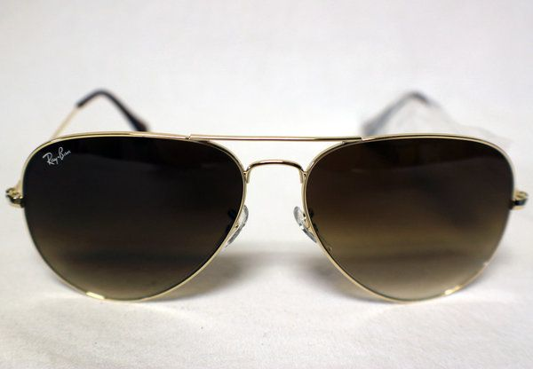 Ray-Ban Sunglasses - Aviator (RB3025) - Gold Frame