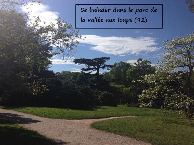 Se balader au parc de la Vallée aux loups, #balade en france, #parcdelavalléeauxloups à Châtenay-Malabry