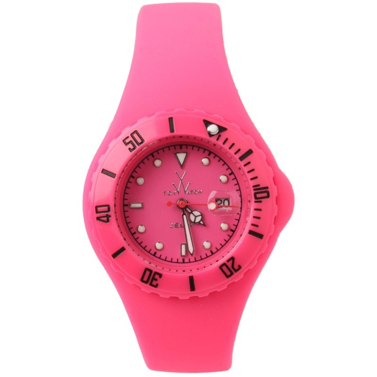 Toy Watch Small jelly pink watch #backtoschool