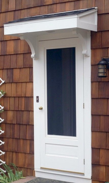 So Maybe This Would Work Instead Of An Expensive Porch, Over Front Door?