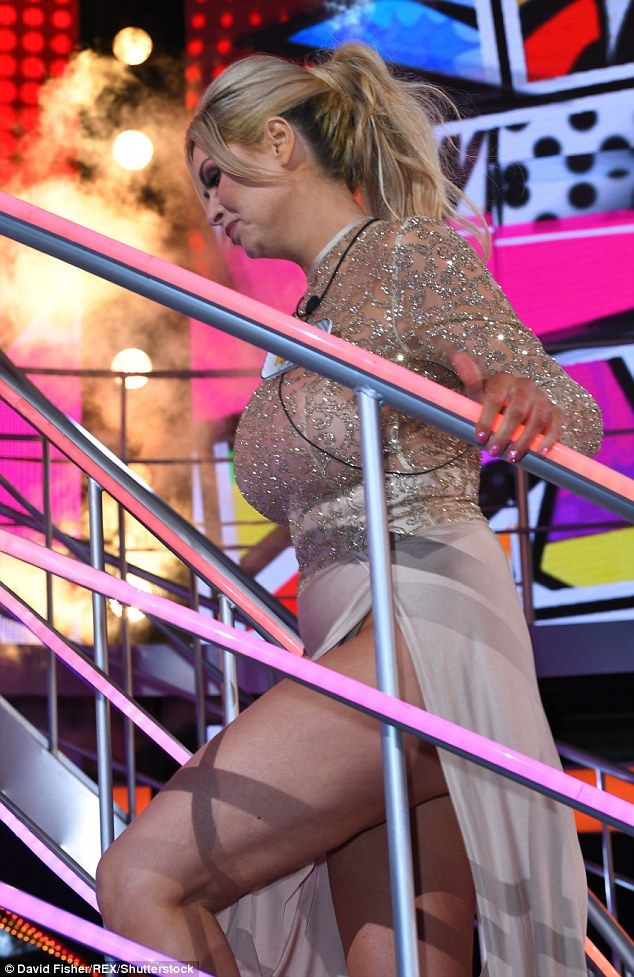 Back to reality: Nicola seemed confident as she made her entrance...