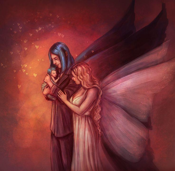 Morpheus, Alyssa and their newborn prince :)