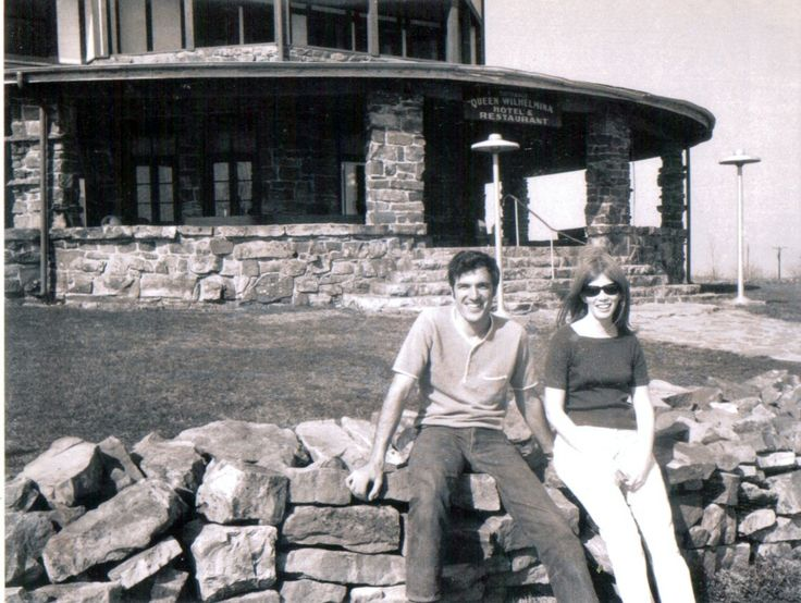 Mom and Dad at Queen Wilhelmina