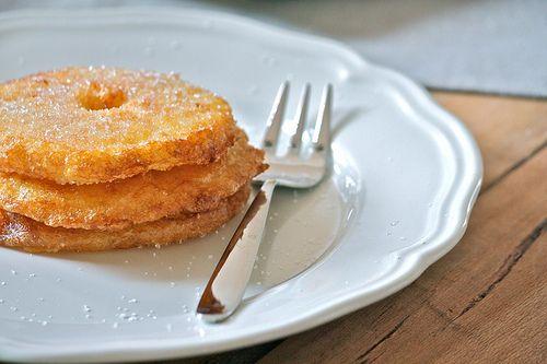 La tana del coniglio: Frittelle di mele (allo Strega)