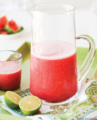 Watermelon and Lime Agua Fresca