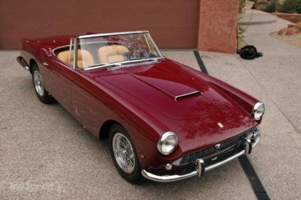 1960 Ferrari 250 GT Pinnin Farina Series II Cabriolet @ Russo And Steele