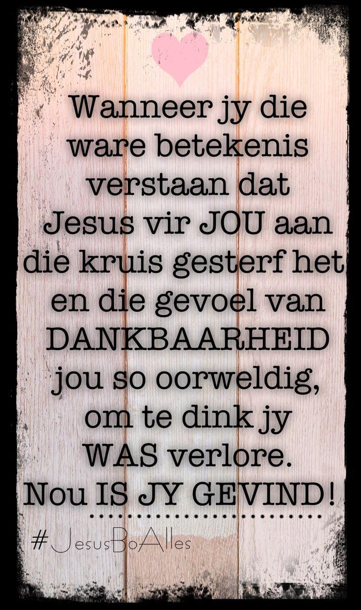 #afrikaans #God #dankbaarheid #verlos