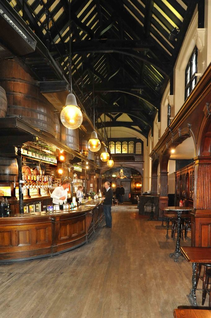 Cittie of Yorke beautiful interior ༺✿༺ Holborn, London.