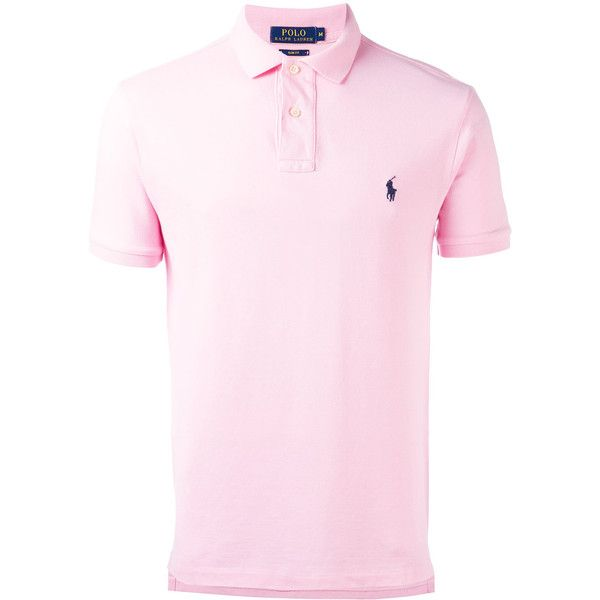 Polo Ralph Lauren classic polo shirt ($85) ❤ liked on Polyvore featuring men's fashion, men's clothing, men's shirts, men's polos, pink, mens pink polo shirt, polo ralph lauren mens shirts, mens polo shirts, mens cotton shirts and mens pink shirts