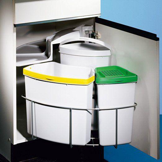 17 beste ideer om Mülleimer Trennsystem på Pinterest Mülleimer - kleine küchenzeile ikea