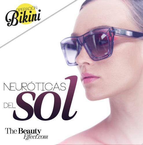 Cosas que una neurótica del sol jamás haría. #Sun #Skin #SPF