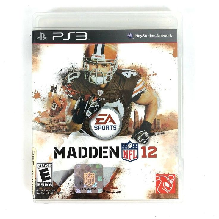 Madden NFL 12 (Sony PlayStation 3, 2011) ps4 gaming