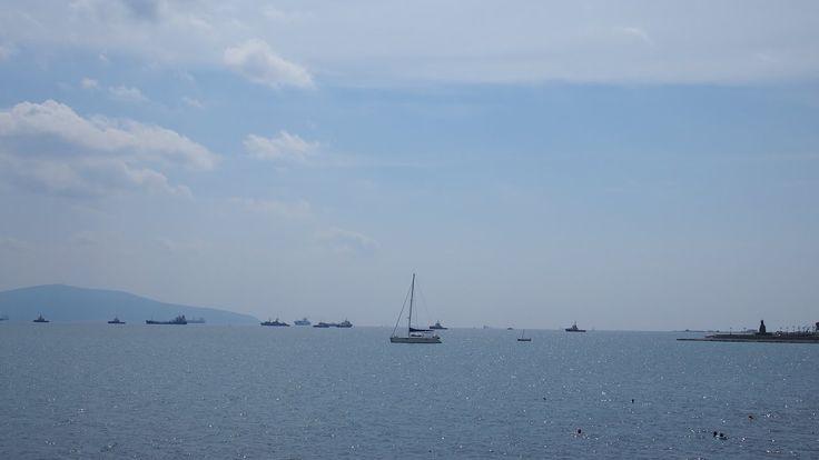 Влог: день 1 на Черном море /идём на пляж/поселились в отеле/Лента//Vlog...