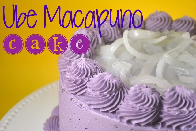 Goldilocks Ube Macapuno Cake Recipe