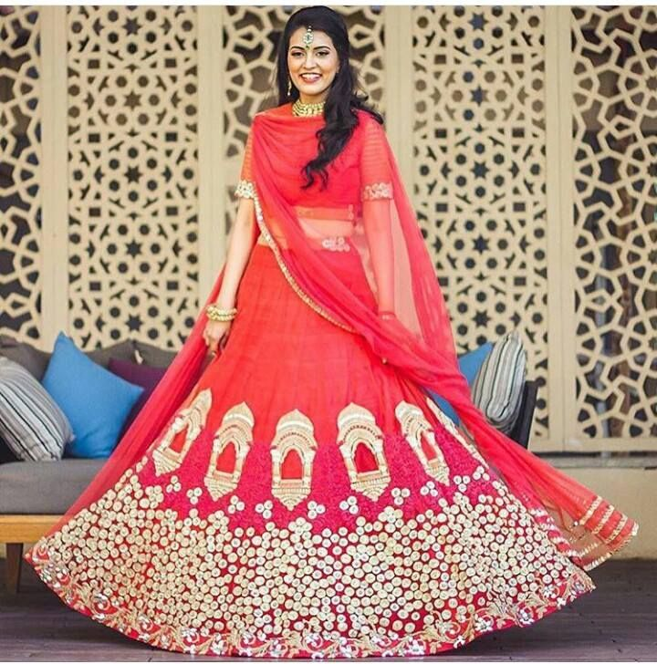 #PartyWearLehengaOnline #DesignerLehengaSale #StylishLehengaOnline #BestLehengaSale Maharani Designer Boutique  To buy it click on this link :  http://maharanidesigner.com/?product=Buy-Lehenga-Online Price - Rs.20000 Fabric :Georgette HandWork For any more information contact on WhatsApp or call 8699101094 Website www.maharanidesigner.com
