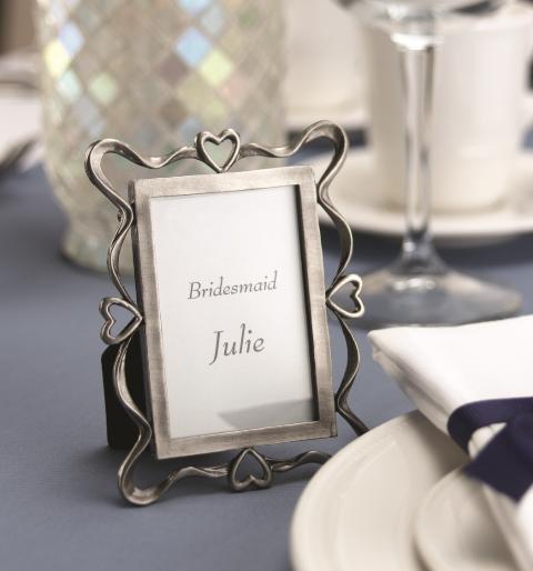 Framed Placecard - Wedding favor & reception decoration in one!