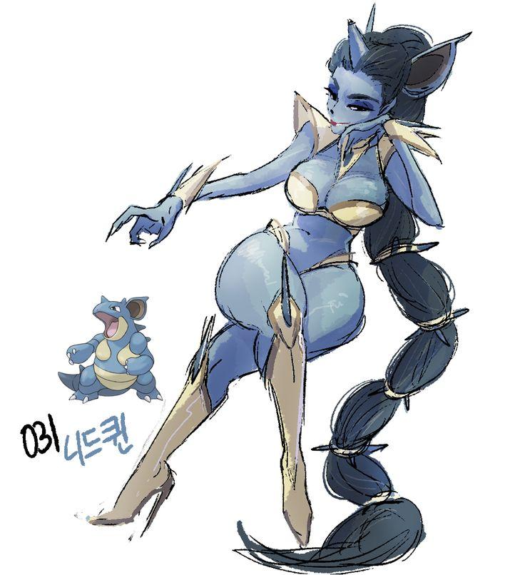 031 - Nidoqueen Strength - B  Endurance - B Mobility - C Mana - B Magic Offence - C Magic Endurance - B  Moves: Superpower - A- Poison Jab - B Blizzard - A Earthquake - B