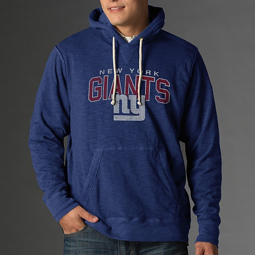 NY Giants hoodie...you look so comfy!   (What you can't see is that the back reads SUPER BOWL CHAMPS AGAIN, SUCKA!!! :)