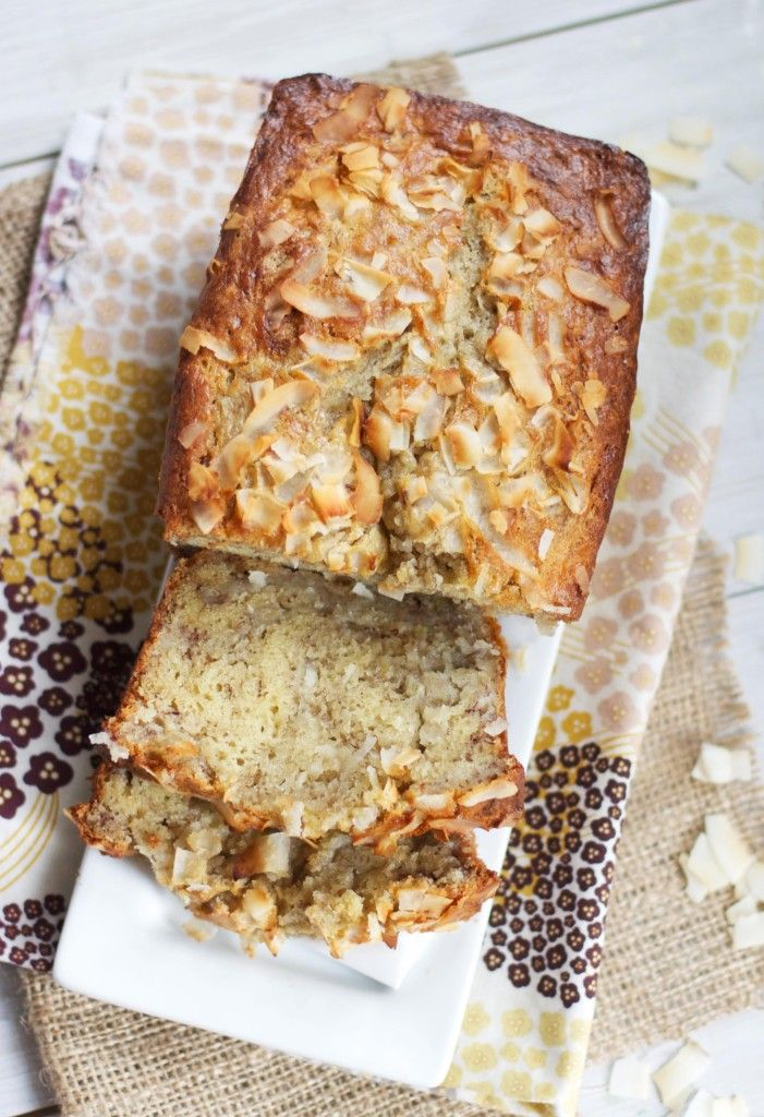 Triple Coconut Banana Bread. Swap the traditional oils with the healthier coconut oil for a bold coconut flavor that doesn't overpower the banana. Goes perfectly with a warm cup of chai tea on a chilly winter morning.