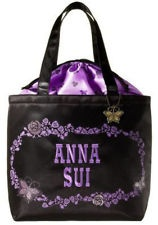 MY AUTHENTIC JAPAN MAGAZINE APPENDIX LIMITED ANNA SUI TOTE BAG + METAL CHARM
