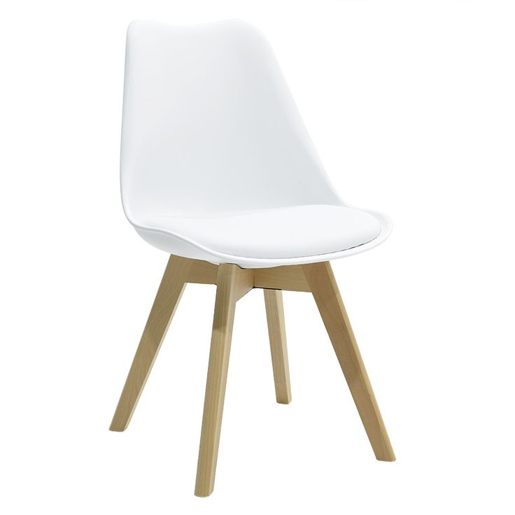 Propylene chair Gaston PU white
