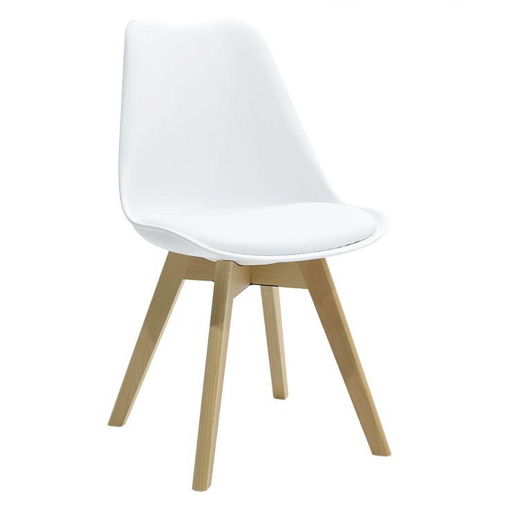 Propylene chair Gaston PU white