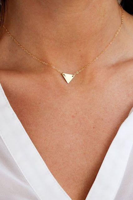 Collier minimaliste tendance