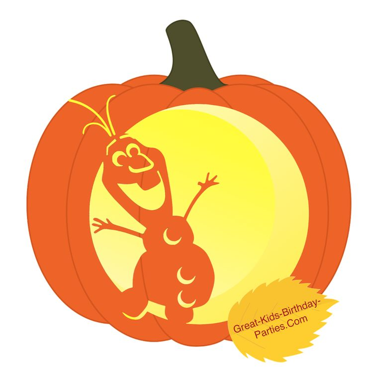Pumpkin Stencils-Fun Halloween pumpkin stencils for kids. Easy pumpkin carving ideas for your Halloween decorations including Frozen's Elsa and Olaf, Mickey Mouse, Dora, Mutant Ninja Turtles