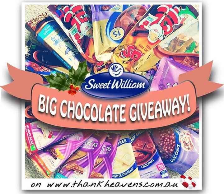 Sweet William & Thank Heaven's - combine for a big chocolate giveaway!!