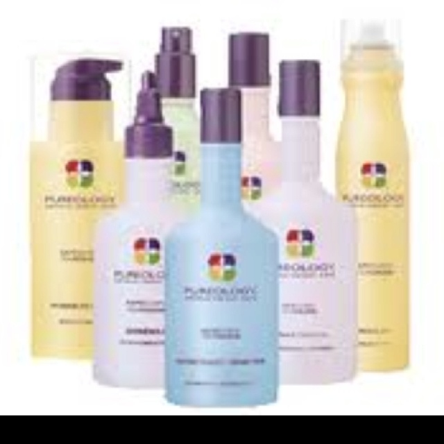 Pureology's line of products are not only great for your hair  but great for the environment!