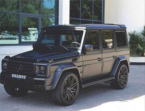 matte #black Brabus G-Wagon
